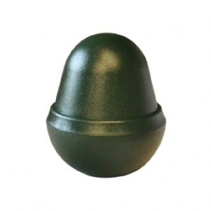 Classic Green Eco Plastic Acorn Post Cap